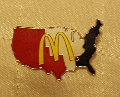 Ronald Mcdonald's Pin  United States   Hat Label Pin
