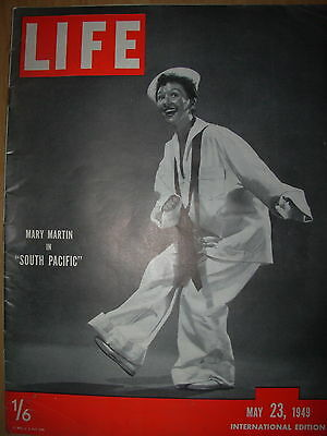 VINTAGE LIFE MAGAZINE MAY 23rd 1949 CHINA - NANKING IS LOOTED