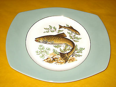 """FIGGjO FLINT NORWAY FISH PLATE/PLATTER No 4 10.5"""",MORE AVAILABLE   (0.65/81P)"""