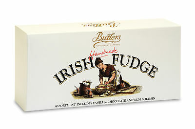 Butlers Handmade Irish Fudge With Assorted Flavours