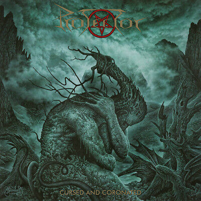 PROTECTOR - Cursed and Coronated  LP  GOLD VINYL