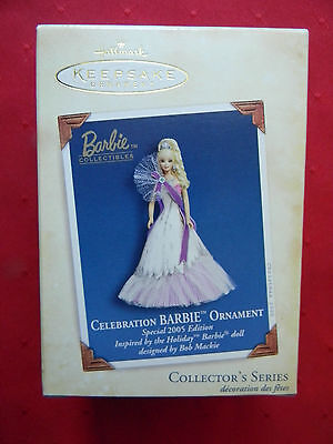 Hallmark Keepsake Ornament Celebration Barbie Series, Special 2005 Edition