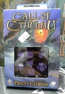 Il Richiamo di Cthulhu Set Dadi Ufficiali Call Of Cthulhu Dice Set Q Workshop