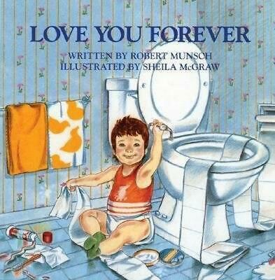 Love You Forever by Robert N. Munsch (English) Paperback Book Free Shipping!