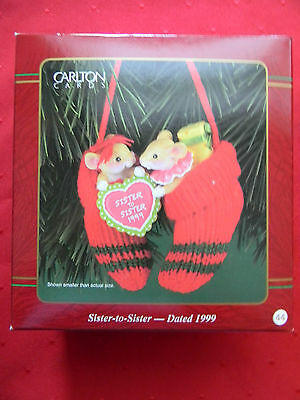 Carlton Cards Heirloom Collections, Sister-to-Sister