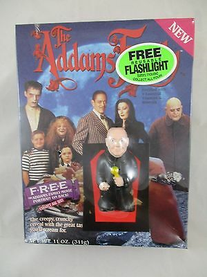 Vintage Ralston The Addams Family Cereal Uncle Fester Reusable Flashlight NOS