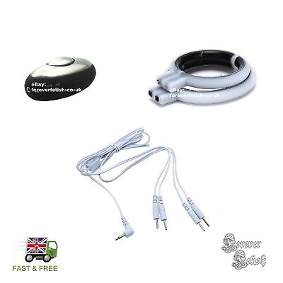 EStim Electro Stimulation Kit for Massage Electro Rings Conductive Loop CBT UK