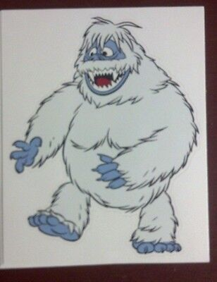 """Abominable Snow Monster, Rudolph the Red-Nosed Reindeer, VERY RARE, 5"""" X 4"""""""