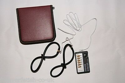 EStim Electro Stimulation Kit for Female Massage Rubber Conductive Loop Rings UK