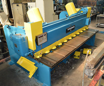 "10' x 1/4"" CINCINNATI-INC ""1810"" MECHANICAL POWER SQUARING SHEAR - #27834"