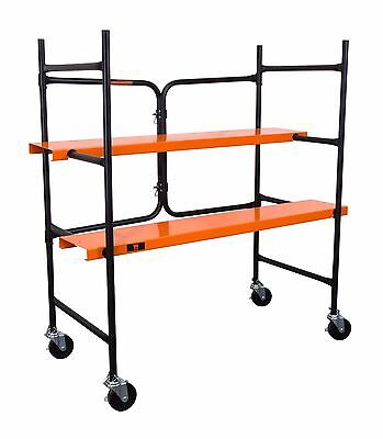 WEN 31105 500-Pound-Capacity Collapsible Rolling Scaffolding