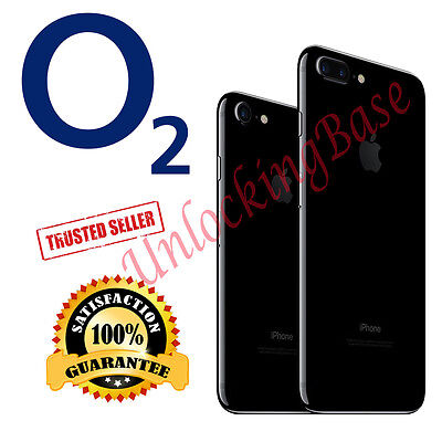Factory Unlock Fast Service For O2 Tesco / Uk Iphone  7 7 Plus