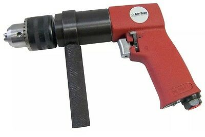 "Heavy Duty 1/2"" Drive Reversible Air Drill Compressor Tool 3 Year Guarantee New"