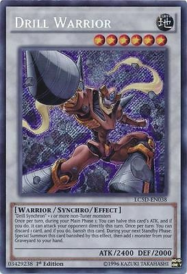 DRILL WARRIOR - (LC5D-EN038) - Secret - 1st - Yu-Gi-Oh Legendary Collection 5Ds