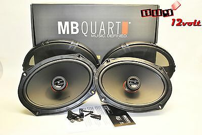 "MB Quart RKM169 6x9"" 2-Way Reference Series Coaxial Speakers"