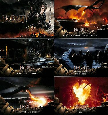 The Hobbit Battle Of The Five Armies 90 Card Base Set And 9 Card Weapons Set