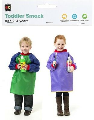 Art Smocks Toddler Art Apron Children Ages 2-4