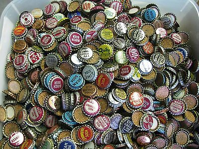100  grab bag UNUSED OLD STOCK CORK SODA POP BOTTLE CAPS ORANGE ROOTBEER COLA
