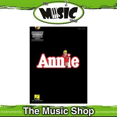 New Annie Broadway Singer's Edition Vocal & Piano Music Book
