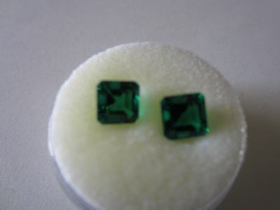 HIGH QUALITY Lab Grown EMERALD 1.86 TCW  LOOSE STONES