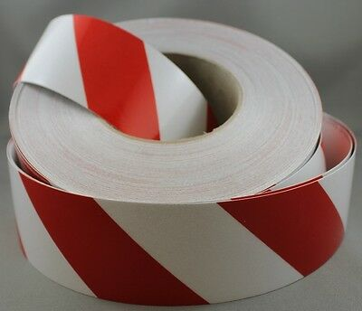3M Red/White Class 2 (3200 Series) Reflective Tape 50mm x 15m LEFT