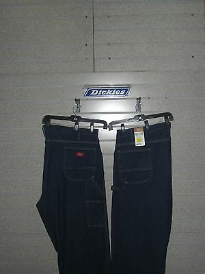 Dickies LU200RNB INDUSTRIAL CARPENTER DENIM JEAN WAIST 46  TO 60