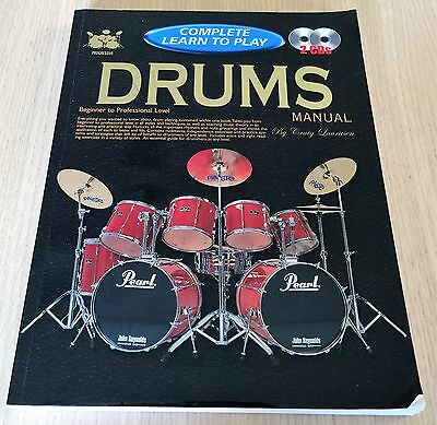 Craig Lauritsen - DRUMS MANUAL - Complete Learn to Play - Book & CDs