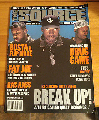 The Source Magazine Hip-Hop Rap Music Tribe Called Quest Phife October 1998 #109