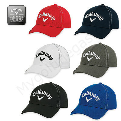 Callaway De Golf Para Hombre Puntada Imán Golf Ajustable Cap- Disponible