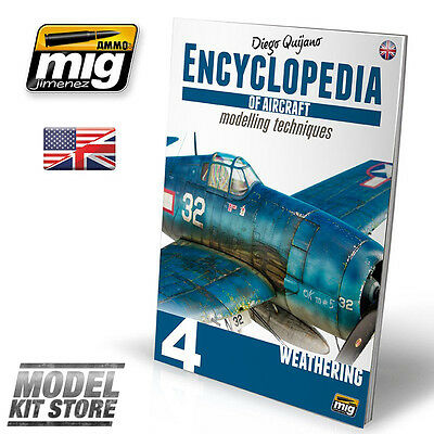 WEATHERING -  ENCYCLOPEDIA OF AIRCRAFT MODELLING : VOL.4 Ammo of MIG 6053