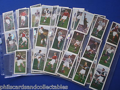 Chix Famous Footballers 2nd set - Bubblegum Cards * Choose The One's You Need *