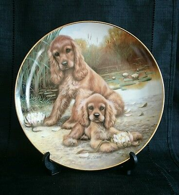 """Hamilton Collection - """"Picking Up The Scent"""" Plate"""