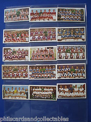 Soccer Teams 2nd Series  1958 - Bubblegum Cards * Choose The One's You Need *