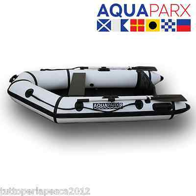 A0600 Tender Aquaparx Rib230 White Carpfishing Spinning Mare Lago Pesca Gommone