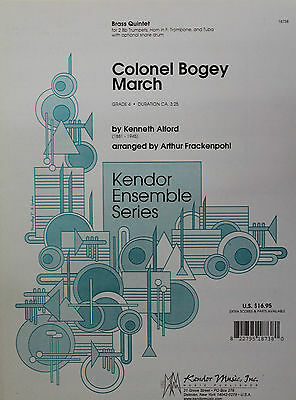 Kenneth Alford: Colonel Bogey March (Brass Quintet) Sheet Music