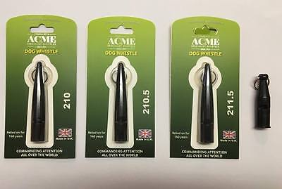 Acme Dog Whistle with Seeland Lanyard - 210, 210.5, 211.5, 212 dog training