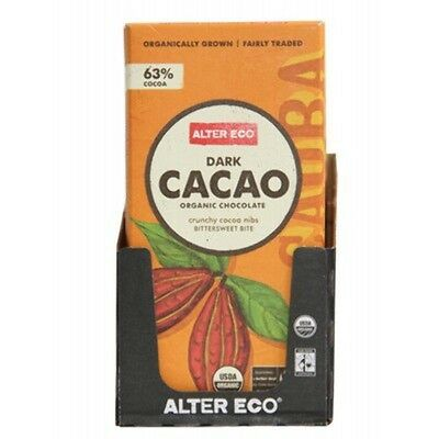 Chocolate (Organic) Dark Cacao 80G Alter Eco