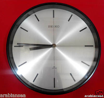 Rare Vintage Seiko MC-017 Slave Clock with Seiko Movement Made In Japan