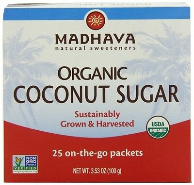 Coconut Sugar Single Serve 25 Madhava