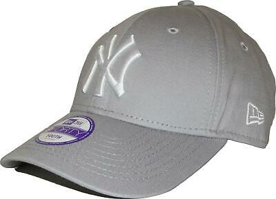 NEW ERA KIDS 9FORTY ADJUSTABLE CAP. NY YANKEES. GREY. Child or Youth