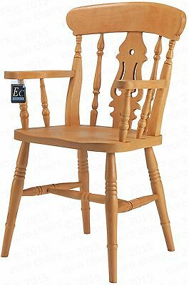Country Fiddle-Back Carver | European Beech |  Brand New | Choice Of Colours