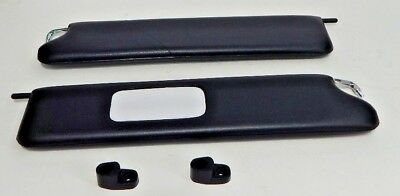 New Pair of Visors Sunvisors for MGB 1977-1980 with clips