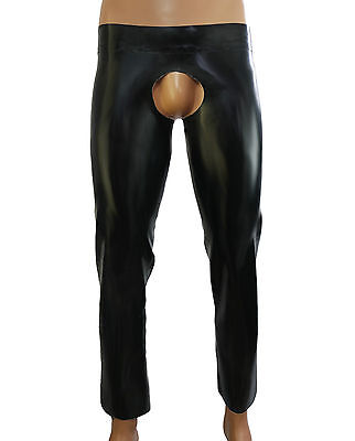mens rubber latex chaps leggings pants VARIOUS COLOURS handmade to measure