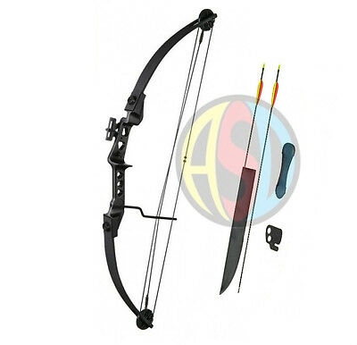 ASD Archery Black Striker Compound Bow With Arrows & Accessories Child - Adult