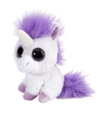 "WILD REPUBLIC Sweet & Sassy 5"" Unicorn Lavender Soft Toy Cuddly Teddy  13702"