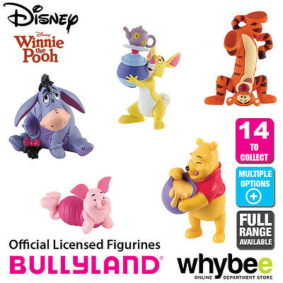 Official Bullyland Disney Winnie The Pooh Figurines - 14 Figures to Choose From!