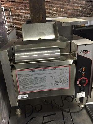APW wyott Bun Toaster Model M-2000 208v BARLEY USED EUC!!! COMMERCIAL STAINLESS