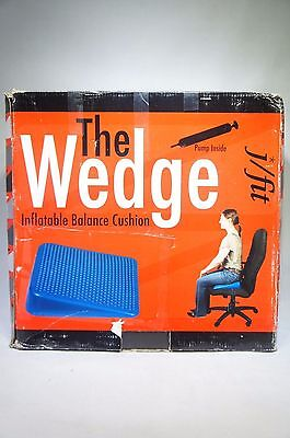 j/fit Sit Wedge Inflatable Balance Cushion EXCELLENT