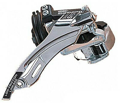 New Shimano Front Derailleur 31.8 34.9 Clamp Top Bottom Pull 48t Crank 3x6/7 Spd