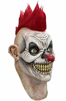 Horror Evil Punky Circus Clown Adult Mask